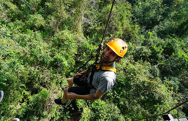 Angkor Zipline (Fly in the jungle)