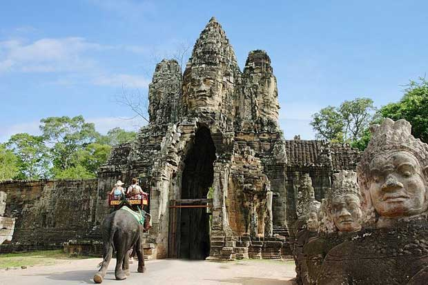 Angkor Wat & Angkor Thom Full Day With Sunset
