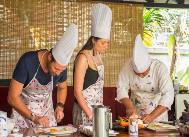Half Day Khmer Food Cooking Class