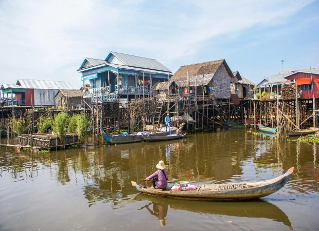Floating Village Kampong Phluk Half Day Tour